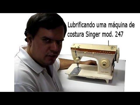 Manual de Sobrevivência - Lubrificando Máquina Singer Mod
