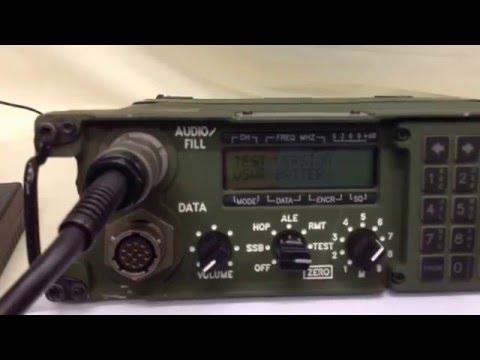 Harris PRC-138 HF Military Radio / Manpack (For Sale) UK