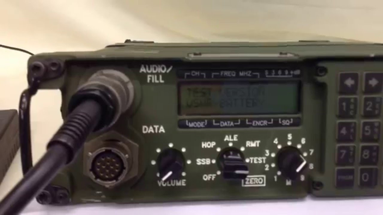 Harris PRC-138 HF Military Radio / Manpack (For Sale) UK