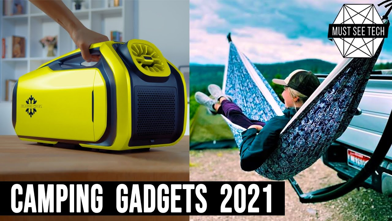 9 Latest Inventions and Accessories for Camping and Exploring in the Wild