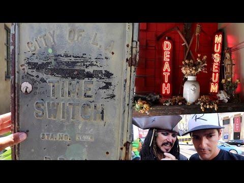 Hollywood's Secret Time Switch & Weirdest Museum..?