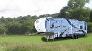 Quick Tour Of the Arctic Fox Silver Fox 32-5M Fifth Wheel