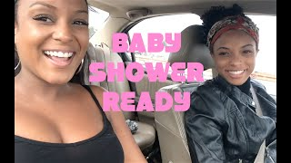 VLOG #6 BABY SHOWER READY