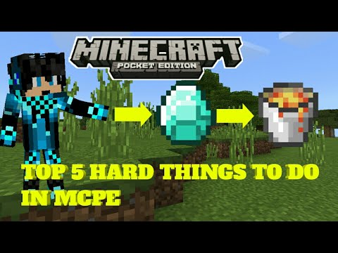 99 Things to do in Minecraft PE When You're Bored ...