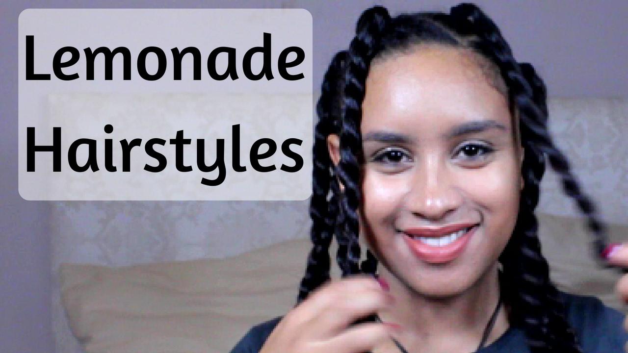 Lemonade Braids Hairstyles Ponytail