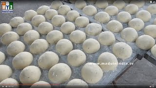 BUTTER NAAN MAKING FOR 2000 PEOPLE | INDIAN PARTY FOODS street food