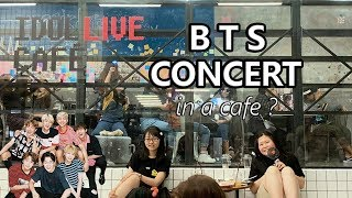 BTS(Bangtan Boys) mini concert in Idol Live Cafe ? #03