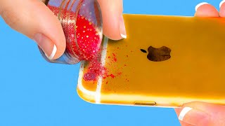 35 AMAZING IDEAS FOR YOUR PHONE || SPECIAL DIYS AND CRAFTS WITH GADGET