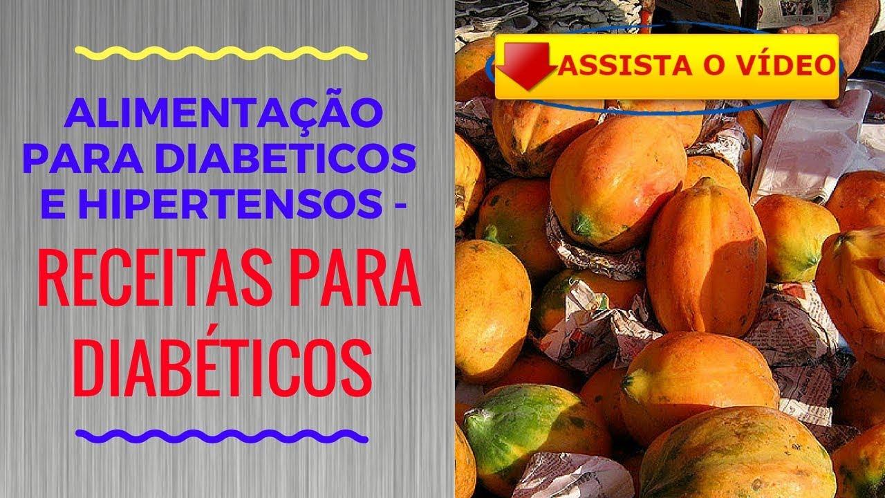 Dieta para hipertensos e diabeticos