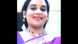 un Paarvaiyil song__Shanthini is singing
