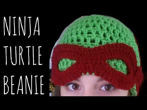 Ninja Turtle Beanie - Crochet Pattern - Character Creation Tutorial - 동영상