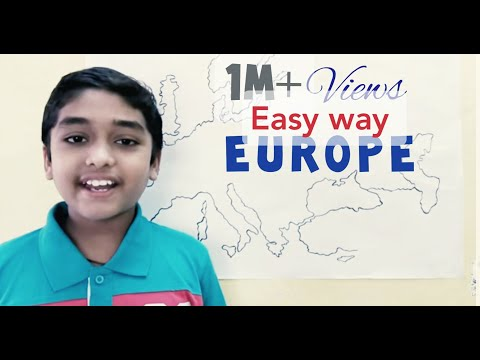 Countries of Europe easyway to learn