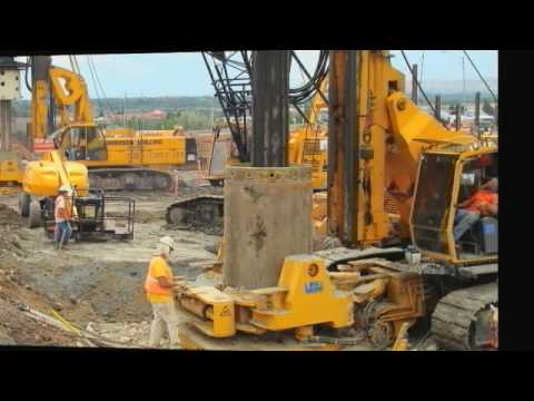 Anderson Drilling - AUGER CAST PILES FINAL - YouTube