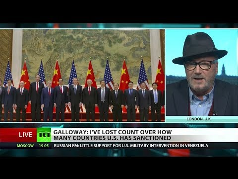 """Galloway: """"I've Lost Count Of How Many Countries The US Has Sanctioned"""""""