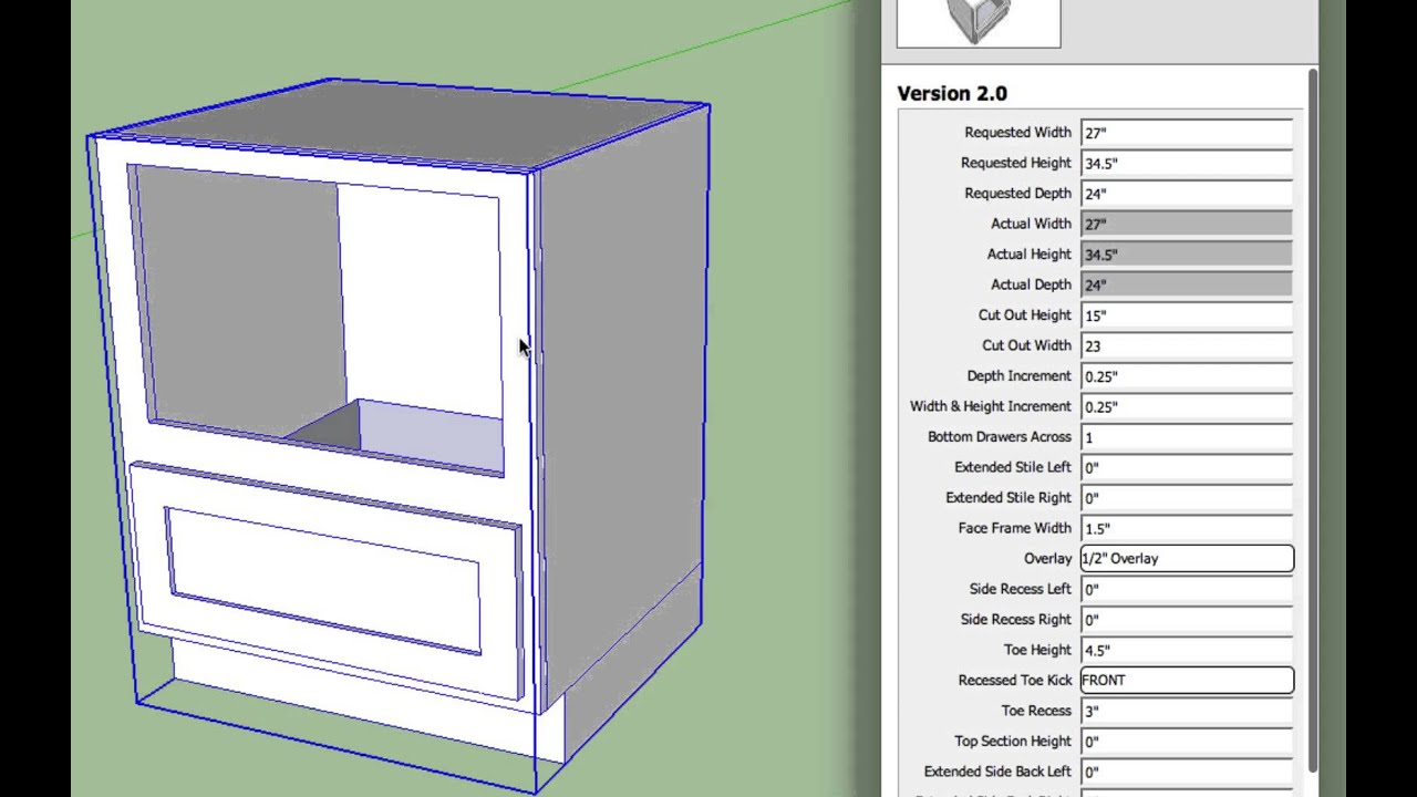 Cabinet Features — SketchThis NET