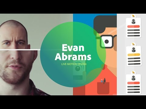 Live Motion Design with Evan Abrams 2/3