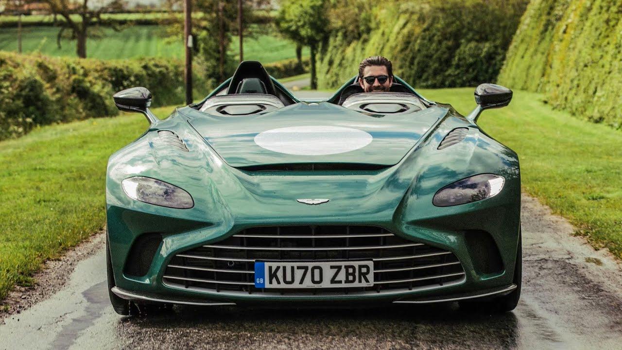 NEW £850k Aston Martin V12 Speedster - First Drive Review!