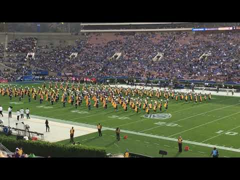 UCLA Marching Band Performing Mighty Bruins Fight Song