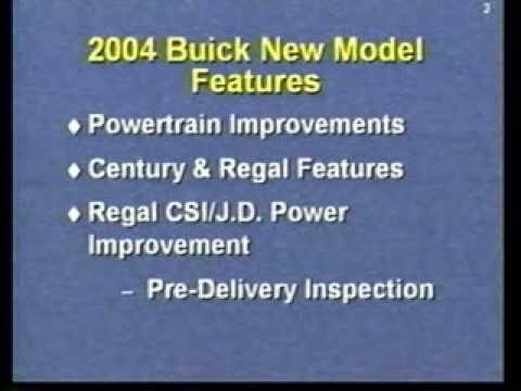 Buick - 2004 Features