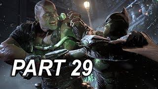 Batman Arkham Origins Gameplay Walkthrough - Part 29 Final Boss Bane (Let
