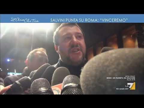 Salvini punta su Roma: 'Vinceremo'