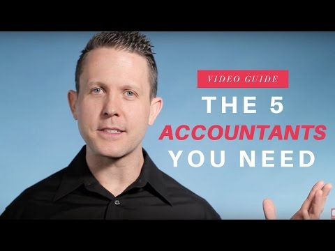 The 5 Types of Accountants
