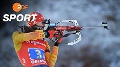 Biathlon-Weltcup in Oberhof: Deutsche Herren-Staffel auf Platz drei | das aktuelle sportstudio - ZDF