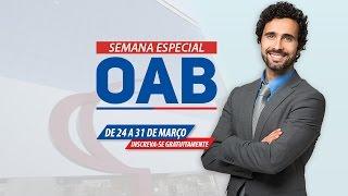 Direito Processual Civil para OAB - Semana Especial OAB