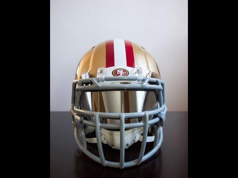 Football Helmet Customization - Painting Under Armour Visor Mounting Hardware | GoPro