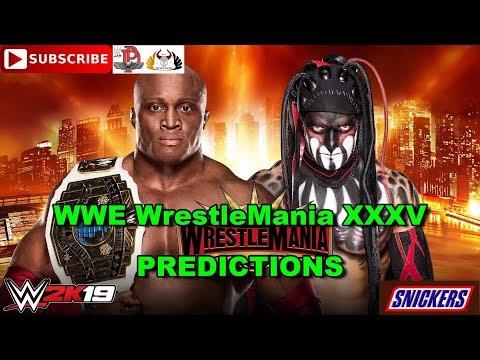 "WWE WrestleMania 35  Intercontinental Championship Bobby Lashley Vs. ""The Demon"" Finn Bálor WWE 2K19"