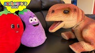 Don't feed your PET DINOSAUR! Skyheart Toys Lala the Brontosaurus dinosaurs for kids