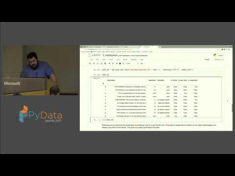 Alex Thomas - Vocabulary Analysis of Job Descriptions