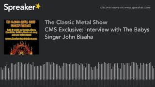 CMS Exclusive: Interview with The Babys Singer John Bisaha