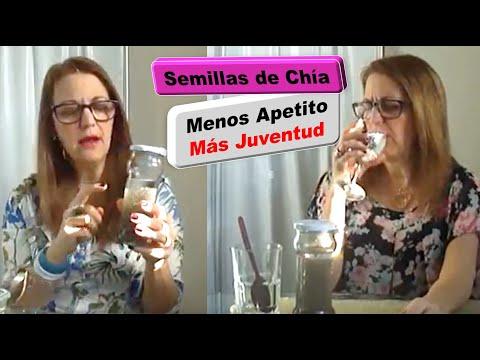Cómo tomar semillas de chía para adelgazar y nutrir. Episodio 104