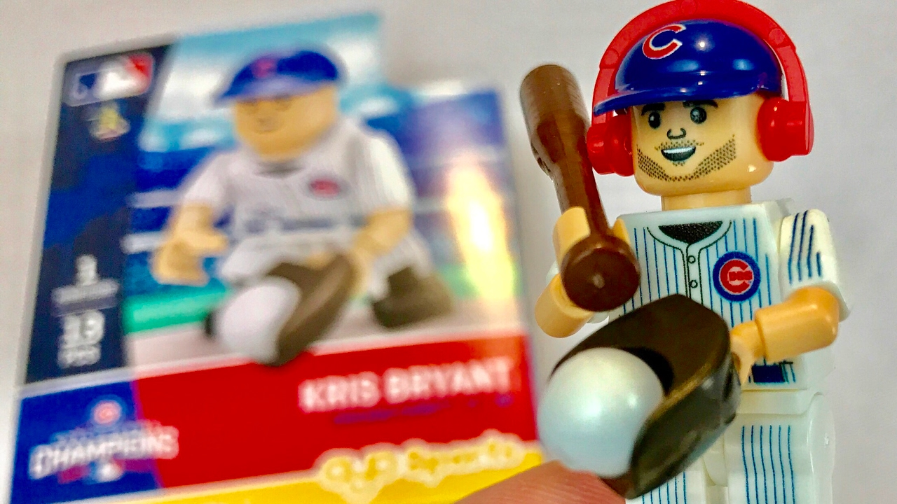 Chicago Cubs MVP Kris Bryant MLB mini figure toy by Oyo Sportstoys     Chicago Cubs MVP Kris Bryant MLB mini figure toy by Oyo Sportstoys  G5S5