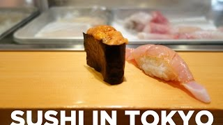 Best Sushi in Tokyo: Sushi Dai & Sushi Bar Yasuda
