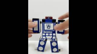 papercraft transformer soundwave!