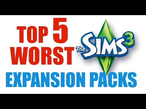 Sims 3: Top 5 Worst (Fan-Voted!) Expansion Packs for The Sims 3
