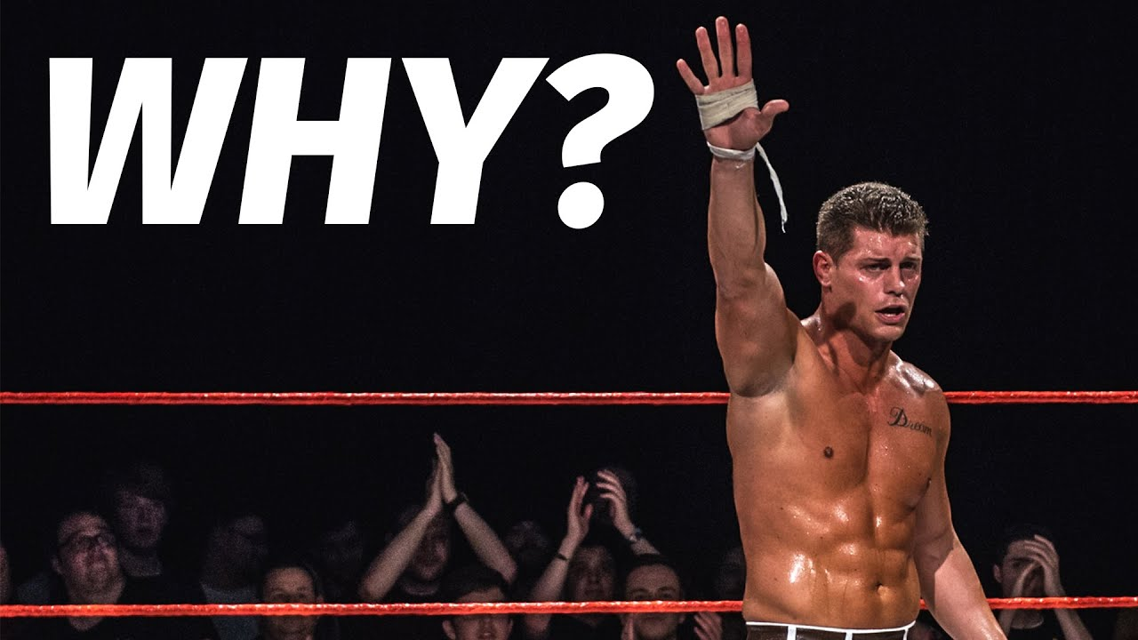 Why Losing Cody Rhodes Is WWE's Biggest Mistake YouTube