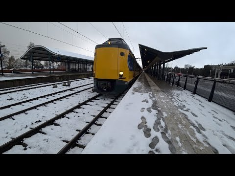 Train Driver's POV Deventer - Apeldoorn - Deventer ICM 2017