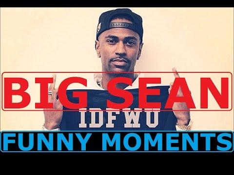 Big Sean FUNNY MOMENTS (BEST COMPILATION)