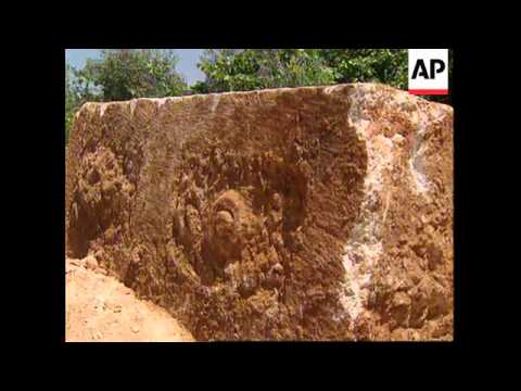 LEBANON: ROMAN SARCOPHAGI UNEARTHED IN ANCIENT CITY OF BAALBECK