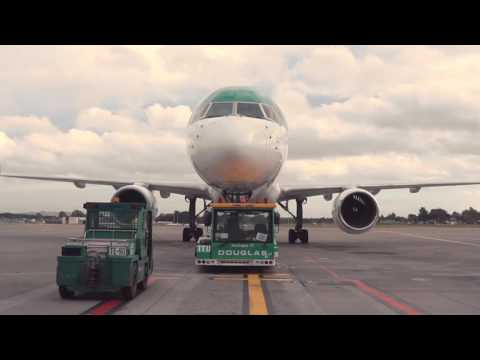 Aer Lingus, Hartford, Connecticut, USA route launch Declan Kearney - Unravel Travel TV