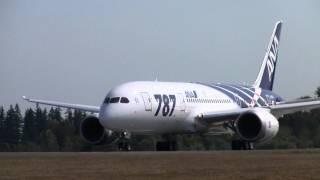 ANA 787 Takeoff