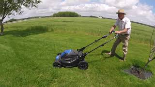 Mowing Demo   Push Mower