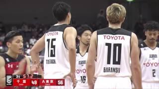 千葉ジェッツvsアルバルク東京|B.LEAGUE第6節 GAME1 Highlights|10.29.2016 プロバスケ(Bリーグ)