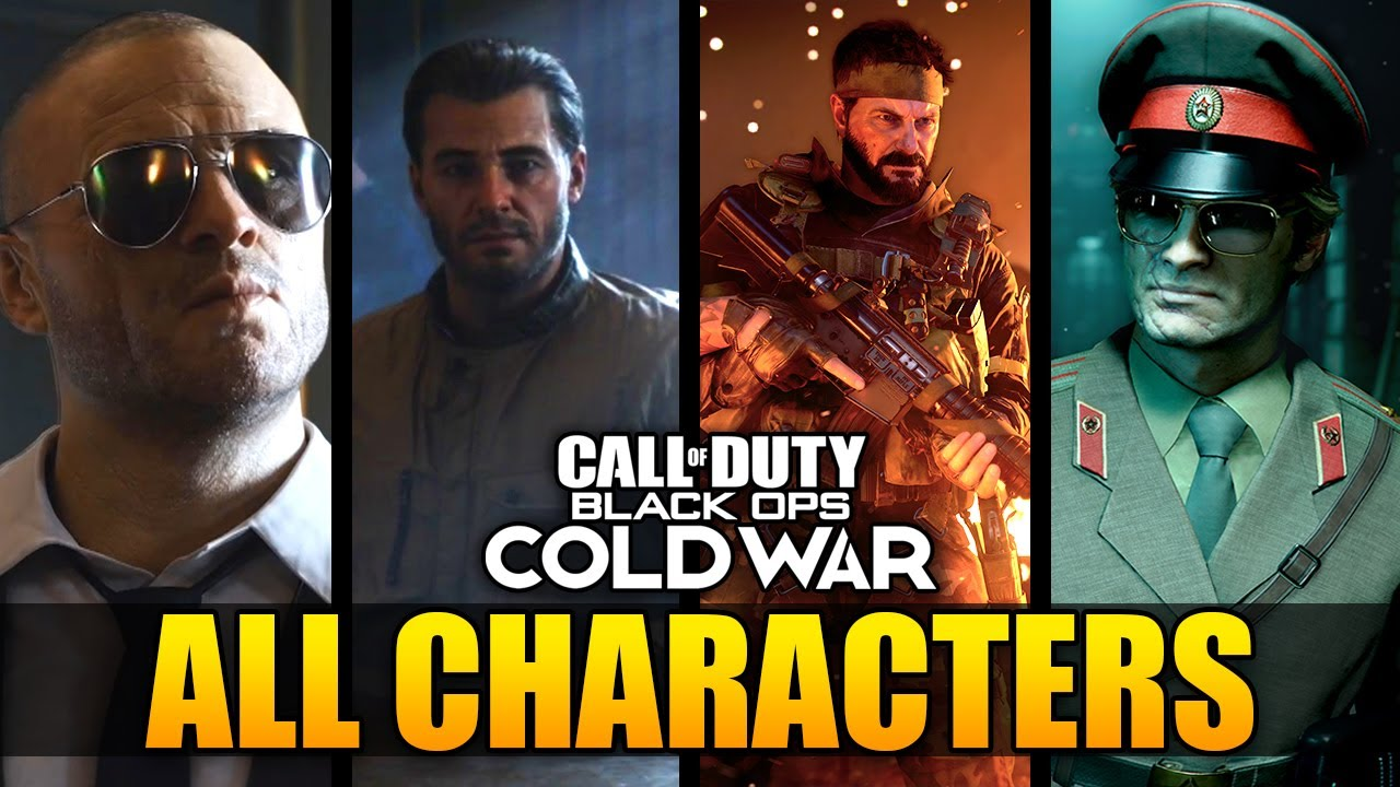 Black Ops Cold War All New And Returning Characters Woods Mason Adler More Youtube