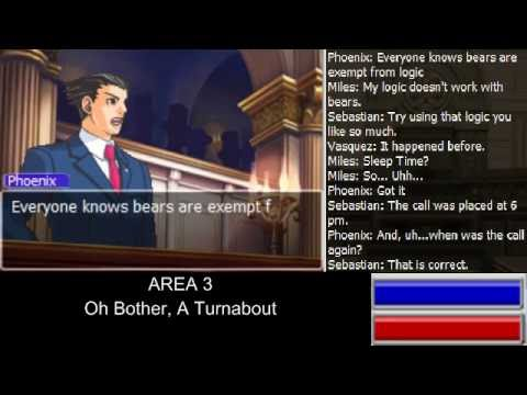 [Case Recording] Oh Bother, A Turnabout