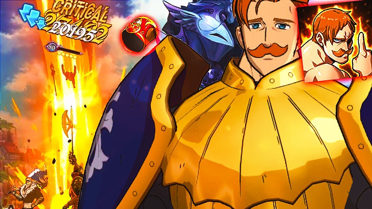 NEXT ON GLOBAL! RED ESCANOR WILL BE THE KING OF NORMAL PVP!! | Seven Deadly Sins: Grand Cross