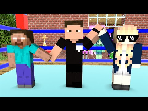 Monster School : Girls Vs Boys (Got Talent) - Funny Minecraft Animation